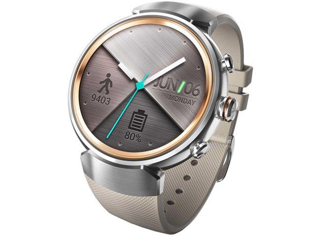 Умные часы ASUS ZenWatch 3 (WI503Q), серебристо-бежевые WI503Q-2LBGE0006