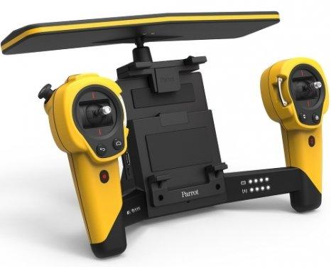Квадрокоптер Parrot Bebop Drone + Skycontroller, желтый PF725102
