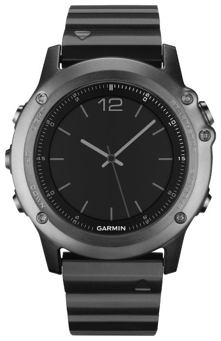 Умные часы Garmin Fenix 3 Sapphire Metal Band HRM-Run 010-013382