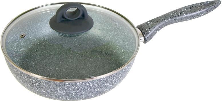 Сотейник Scovo Stone Pan ST-021, серый