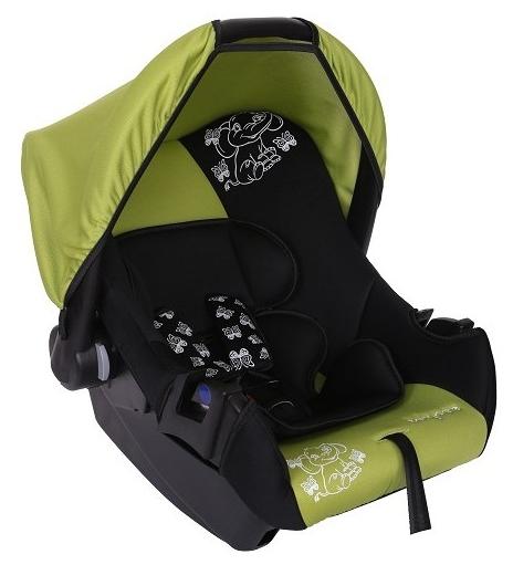 Автокресло Baby-Care BC-322 Люкс Слоник, зеленое