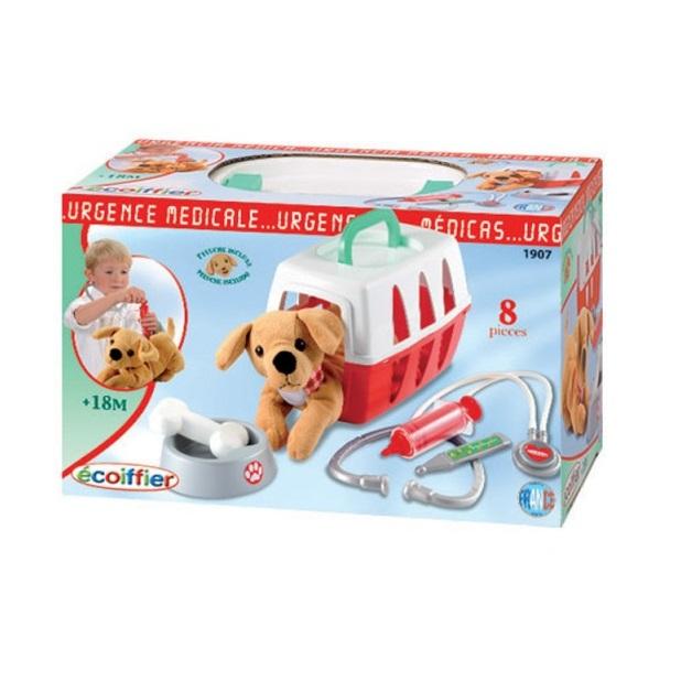 Набор игровой Ecoiffier ветеринара в чемоданчике (24284)