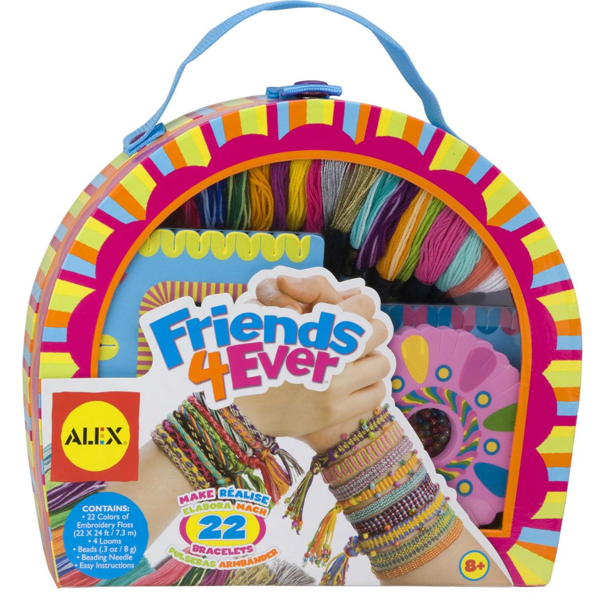 Набор игровой Alex для создания украшений Друзья навсегда в кейсе