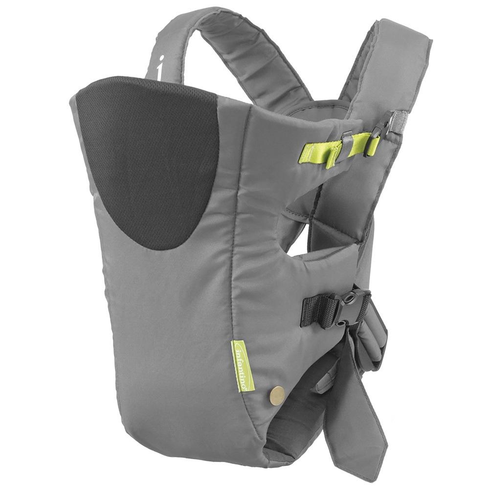 Рюкзак-кенгуру Infantino Breathe, серый