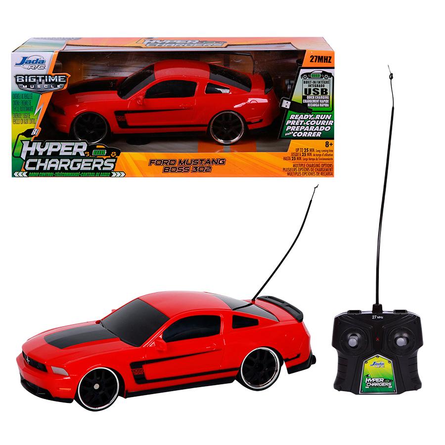 Радиоуправляемая модель Jada-Toys Jada Toys Машинка Ford Mustang Boss 302 (15830)