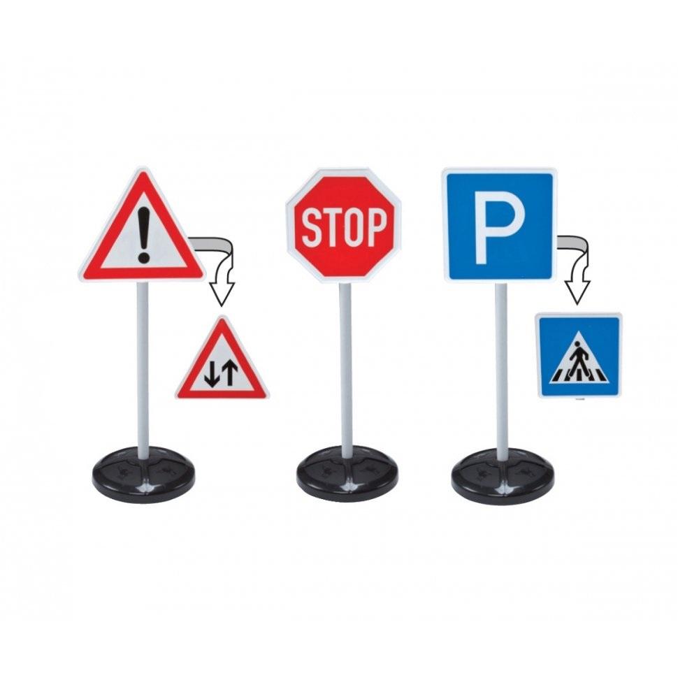 Набор игровой BIG Дорожные знаки (3 шт)