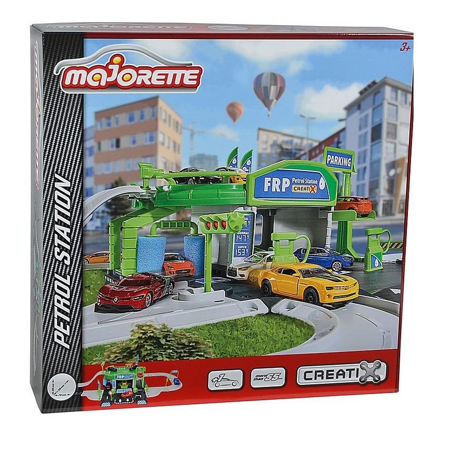 Набор игровой Majorette Заправочная станция Creatix (24305)