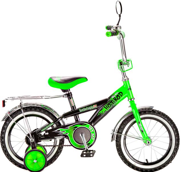Велосипед RT BA Hot-Rod 14 KG1406, зелёный