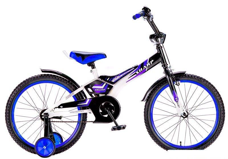 Велосипед RT BA Sharp KG1610 16, синий