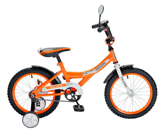 Велосипед RT BA Wily Rocket 14, оранжевый