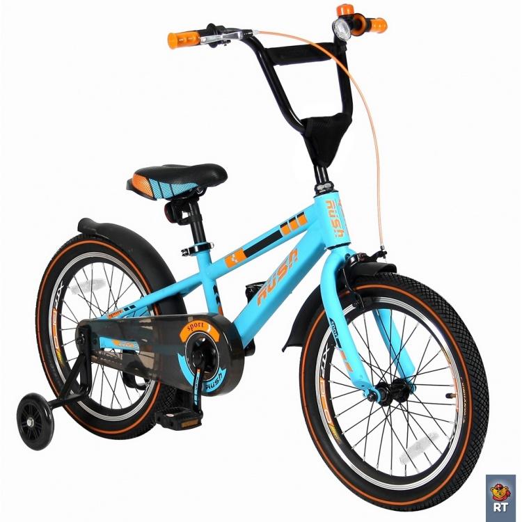Велосипед VELOLIDER 16 Rush Sport, бирюзовый