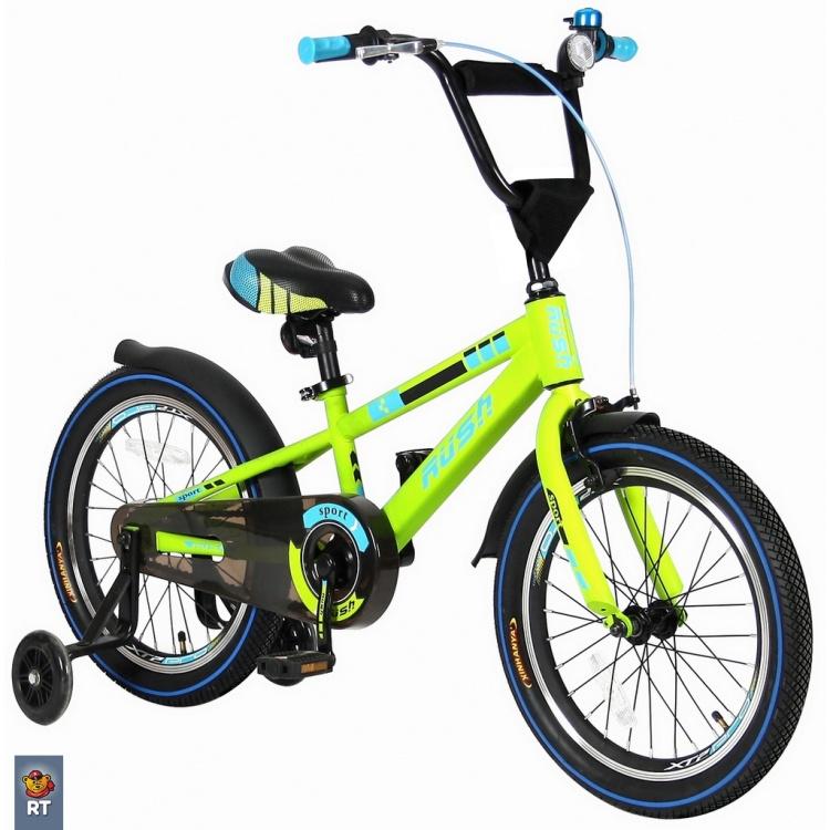 Велосипед VELOLIDER 16 Rush Sport, зелёный