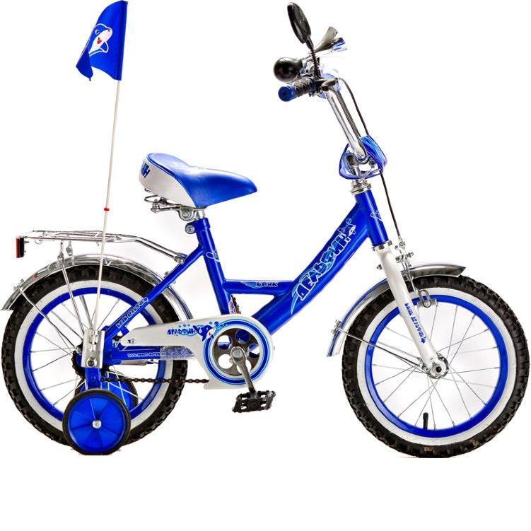 Велосипед RT KG1205 Дельфин 12 1s, cиний