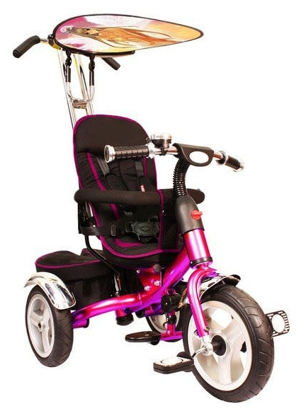 Трехколесный велосипед Liko-Baby LB-778, розовый