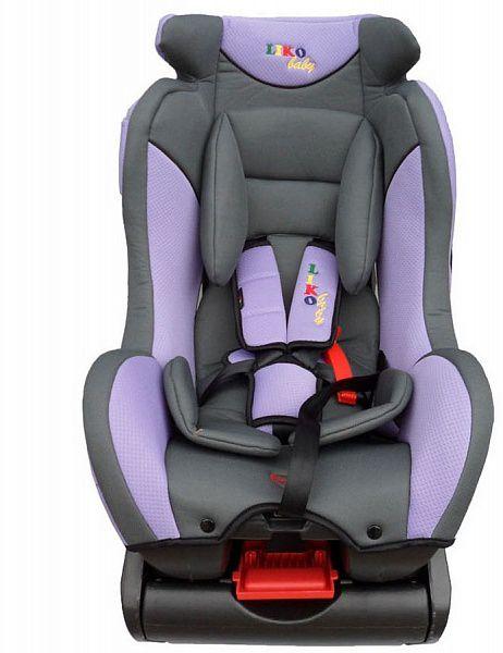 Автокресло Liko-Baby LB 718, фиолетово-серое