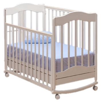 Детская кроватка Gandilyan Ванечка К2002-22, белая
