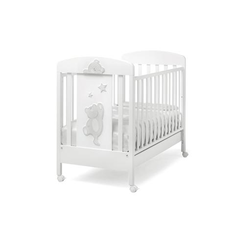 Детская кроватка Erbesi Cucu, белая
