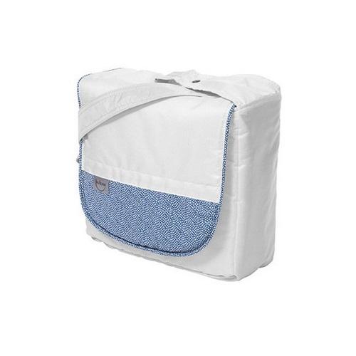 Сумка для мамы Teutonia 5205, белая с голубым (id:13053
