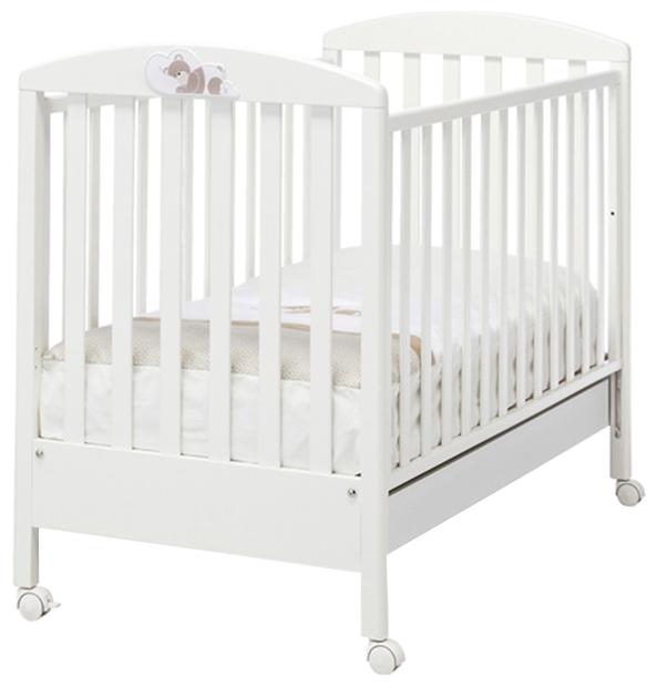Детская кроватка Erbesi Dormiglione, белая