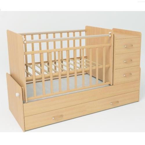 Детская кроватка SKV-company СКВ-5 54403 Бук