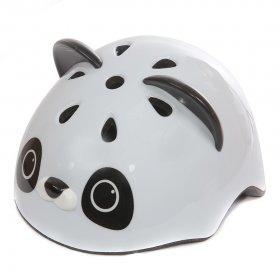Шлем роликовый Rexco 3D Панда, черный id: 31308