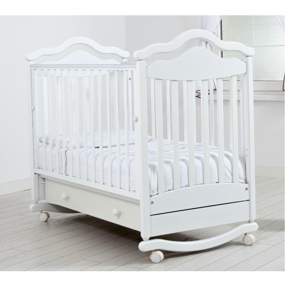 Детская кроватка Gandilyan Анжелика Белая К 2005-1