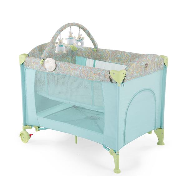 Манеж Happy-Baby Lagoon V2 синий
