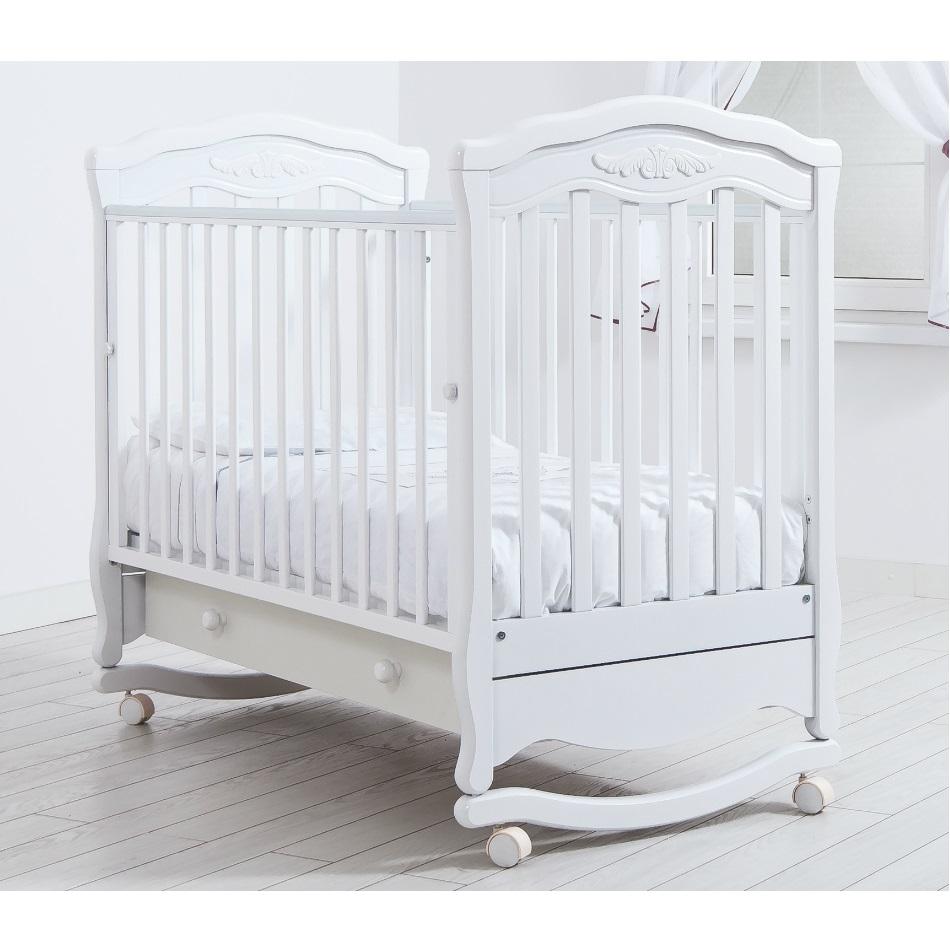 Детская кроватка Gandilyan Шарлотта белая