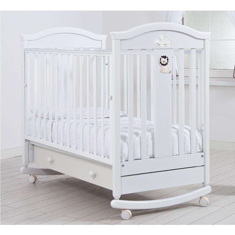Детская кроватка Gandilyan Даниэль белая
