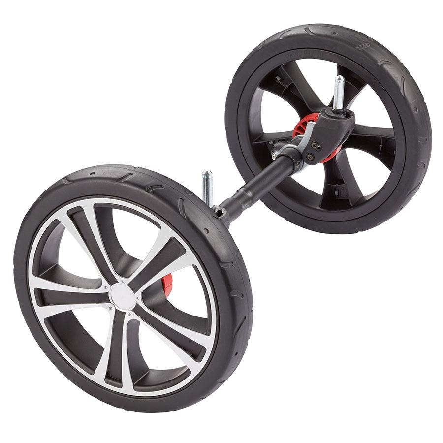 Аксессуар к коляске Gesslein Колеса Indy передние (черные)