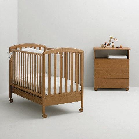 Детская кроватка Mibb Superpop Ciliegio вишня