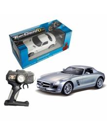 Радиоуправляемая модель 1-Toy Top Gear Mercedes Benz SLS Серебристый (1:14)