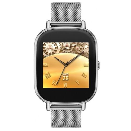 Умные часы ASUS ZenWatch 2 (WI502Q) metal, серебристые WI502Q(BQC)-1MSIL0011