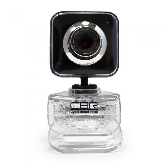 Web-камера CBR CW-834M, черный CW 834M Black