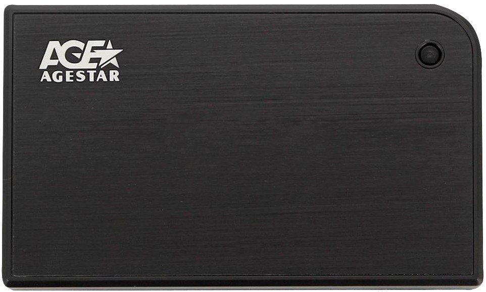 Корпус жесткого диска HDD AgeStar 3UB2A14 Black