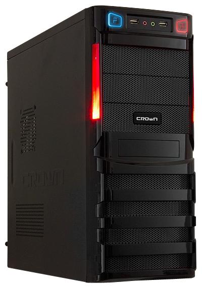 Корпус Crown CMC-SM162 450W Black
