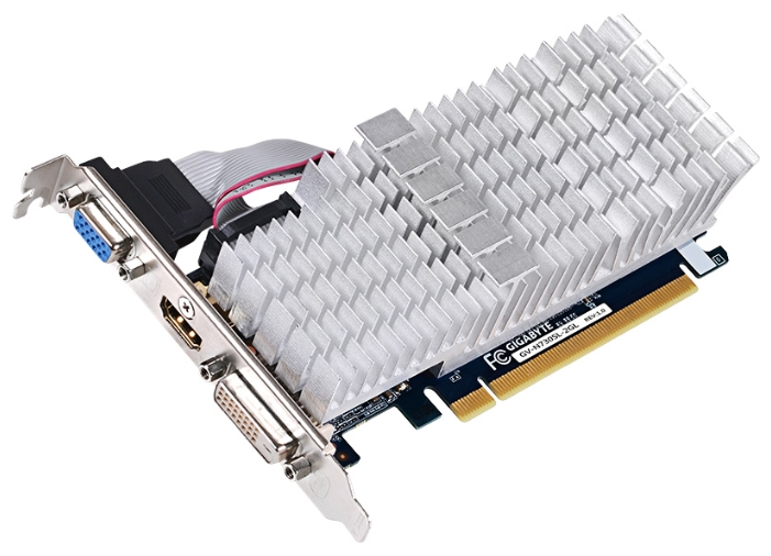 Видеокарта GeForce GigaByte GeForce GT 730 902Mhz PCI-E 2.0 2048Mb GV-N730SL-2GL