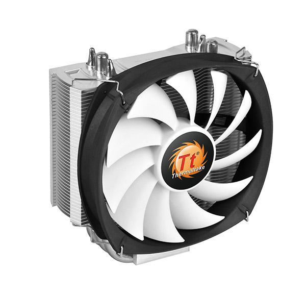 Кулер Thermaltake Frio Silent 12 (1x 120 мм / 150 Вт / Intel-AMD / 500-1400 rpm) CL-P001-AL12BL-B