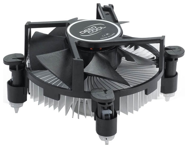 Кулер Deepcool CK-11509 PWM (LGA115x, 4pin, 18-31dB, 65W, клипсы) DP-ICAP-11509PWM
