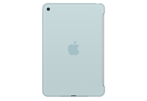 apple iPad mini 4 Silicone Case, бирюзовый