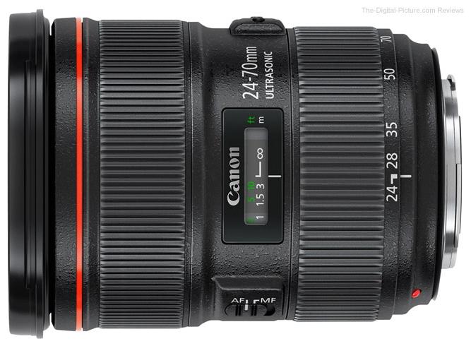 Объектив для фото Canon EF 24-70mm f/2.8L II USM (стандартный Zoom) 5175B005