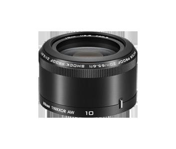 Объектив для фото Nikon AW 10mm/f2.8, Черный JVA103DA