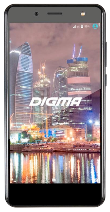 Digma Vox Flash 4G 1/8Gb, черный