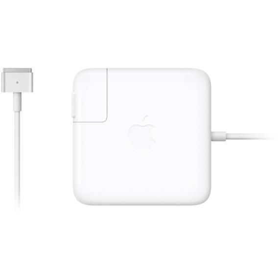 Блок питания для ноутбука apple MagSafe 2 Power Adapter (MD565Z/A), белый