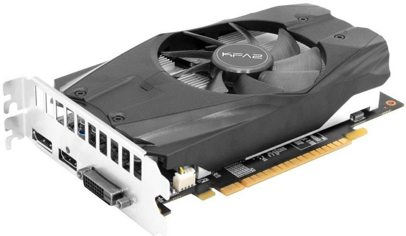 Видеокарта GeForce KFA2 GeForce GTX 1050 Ti 1303Mhz PCI-E 3.0 4096Mb 7008Mhz 128 bit DVI HDMI HDCP, 50IQH8DSN8OK
