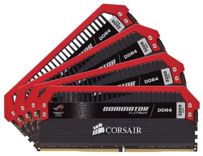 Модуль памяти Corsair CMD32GX4M4C3200C16