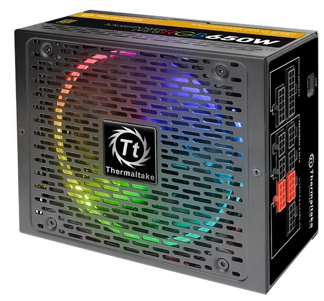 Блок питания Thermaltake Toughpower DPS G RGB 650W (Gold Cable Management) TPG-0650D-R