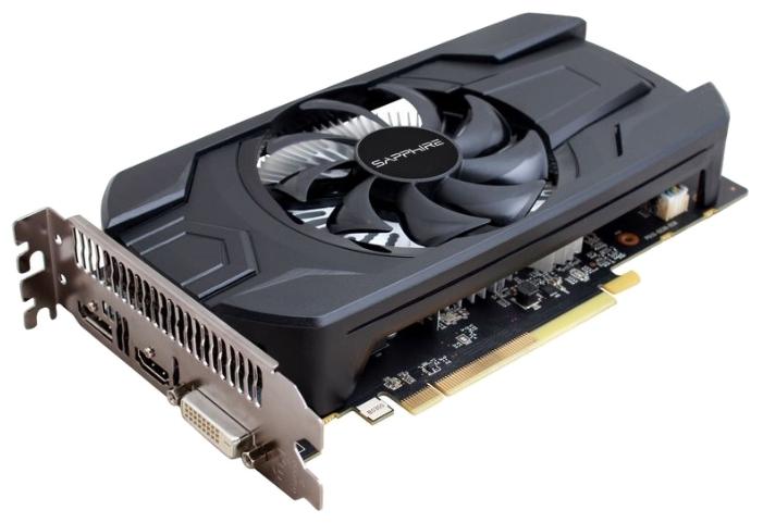 Видеокарта Radeon Sapphire Radeon RX 460 1090Mhz 4096Mb GDDR5 7000Mhz 128 bit DVI 11257-11-20G