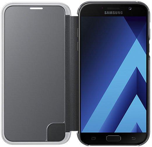 Samsung Galaxy A7 (2017) Clear View Cover, черный
