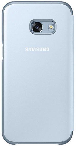Samsung Galaxy A3 (2017) Neon Flip Cover, синий